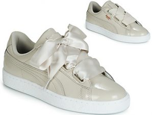 Xαμηλά Sneakers Puma WN BASKET HEART PATENT.GRA