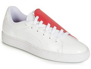 Xαμηλά Sneakers Puma WN BASKET CRUSH.WH-HIBISCU