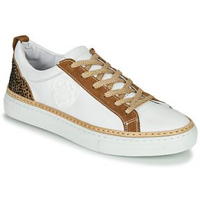 Xαμηλά Sneakers Philippe Morvan CORK V1 NAPPA BLANC