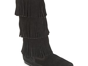 Μπότες για την πόλη Minnetonka CALF HI 3 LAYER FRINGE BOOT