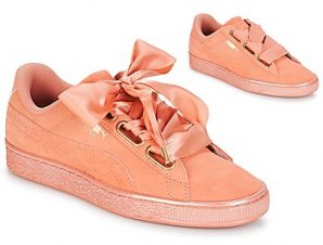 Xαμηλά Sneakers Puma WN SUEDE HEART SATIN.DUSTY