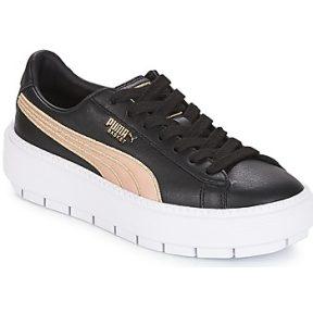 Xαμηλά Sneakers Puma WN PLATFORM TRACE BSQT.BLK